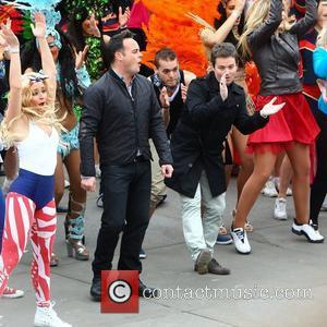 Ant Mcpartlin, Ant And Dec, Declan Donnelly and Trafalgar Square