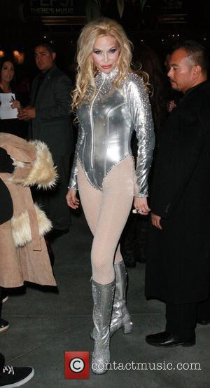 Christina Fulton Big Bang 2012 at Hollywood and Highland Los Angeles, California, USA - 01.01.12