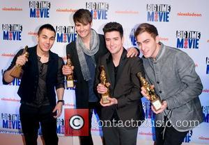Big Time Rush 'Big Time Movie' New York Premiere at 583 Park Avenue - Arrivals New York City, California -...