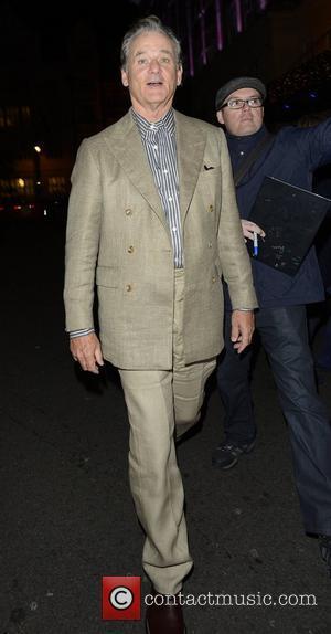 Bill Murray  leaving the Mayfair hotel London, England - 16.10.12
