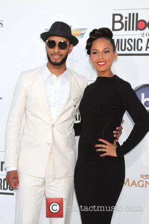 Swizz Beatz, Alicia Keys 2012 Billboard Music Awards, held at MGM Grand Garden Arena - Arrivals Las Vegas, Nevada -...