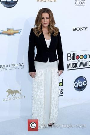 Lisa Marie Presley 2012 Billboard Music Awards, held at MGM Grand Garden Arena - Arrivals Las Vegas, Nevada - 20.05.12