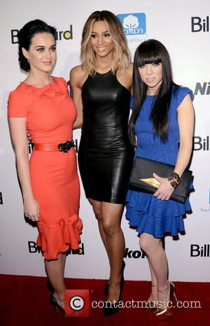 Katy Perry, Ciara, Ciara Princess Harris and Carly Rae Jepsen
