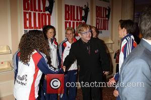 Elton John and Hockey