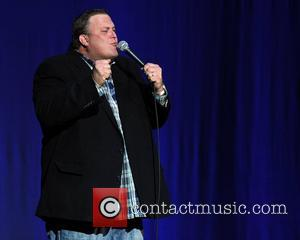 Billy Gardell  performing at the Seminole Hard Rock Hotel and Casino Hollywood, Florida - 27.04.12