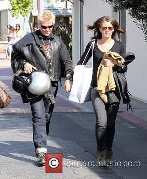 Billy Idol leaves the Intermix store in Malibu Los Angeles, California - 24.03.12