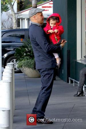Billy Zane and daughter Ava Katherine Zane  out and about at The Grove Los Angeles, California - 23.12.12