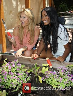 Cassie Scerbo, Keke Palmer Bing and DoSomething.org launch Bing's 'Summer of Doing' held at Lafayette Park Los Angeles, California -...