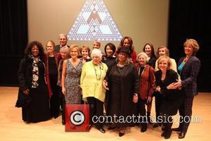 From L to R, Back Row First, Jessye Norman, Gloria Steinem, Charlie Soap, Dr. Johnnetta B. Cole, Faye Wattleton, Connie...