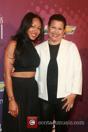 Megan Good and Debra Lee