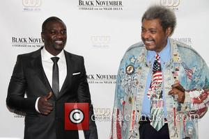 Akon, Aliaune Damala Badara Akon, Thiam and Don King