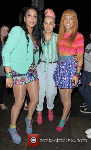 Jessie J, Lauren Goodger and Lydia