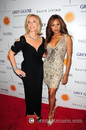 Lea Black and Deborah Cox attends Lea & Roy Black Present the Black's Annual Gala 2012 - Arrivals at Fontainebleau...