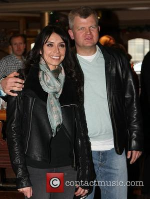 Adrian Chiles and Christine Bleakley head to the pub after presenting Daybreak for the last time London, England - 05.12.11