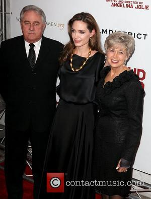 William Pitt, Angelina Jolie, Jane Pitt  Premiere of 'In the Land of Blood and Honey' at the School of...