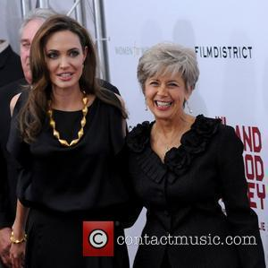 Angelina Jolie and Jane Pitt Premiere of 'In the Land of Blood and Honey' at the School of Visual Arts...