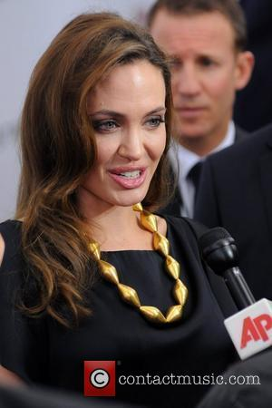 Angelina Jolie Premiere of 'In the Land of Blood and Honey' at the School of Visual Arts - Arrivals New...
