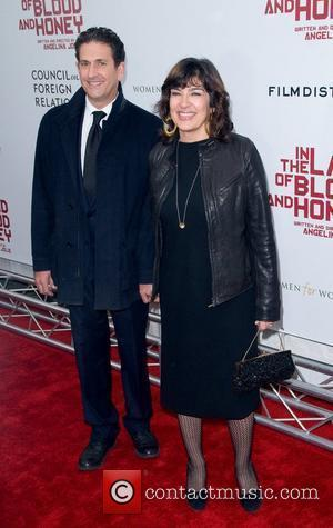 Christiane Amanpour and Jamie Rubin Premiere of 'In the Land of Blood and Honey' at the School of Visual Arts...