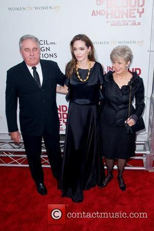 William Pitt, Angelina Jolie and Jane Pitt Premiere of 'In the Land of Blood and Honey' at the School of...