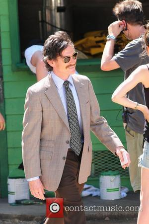 Billy Crudup filming 'Blood Ties' on location in Astoria Park  New York City, USA - 29.05.12