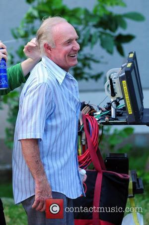 James Caan filming 'Blood Ties' on location in Astoria Park  New York City, USA - 29.05.12