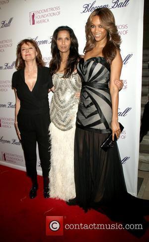 Susan Sarandon, Padma Lakshmi and Tyra Banks