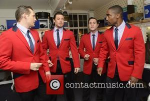 Lee Ryan, Duncan James, Anthony Costa and Simon Webbe