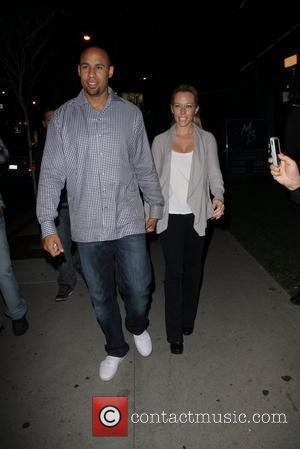 Hank Baskett and Kendra Wilkinson Celebrities arriving at BOA Steakhouse Los Angeles, California - 13.01.12
