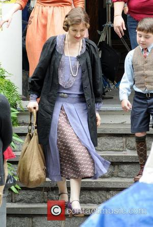 Kelly MacDonald on the set of 'Boardwalk Empire' in Brooklyn New York City, USA - 13.06.12