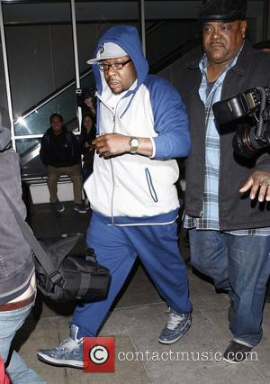 Bobby Brown arrives at LAX airport one day after the unexpected death of his ex-wife Whitney Houston Los Angeles, California...