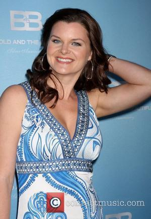 Heather Tom 25th Silver Anniversary Party For CBS' The Bold and the Beautiful held at Hill Street Los Angeles, California...