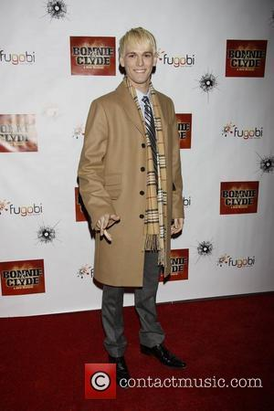 Aaron Carter from the musical 'The Fantasticks'  Opening night of the Broadway production of 'Bonnie and Clyde' at the...