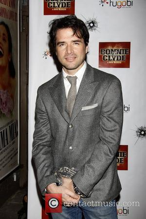 Matthew Settle  Opening night of the Broadway production of 'Bonnie and Clyde' at the Gerald Schoenfeld Theatre - Arrivals....