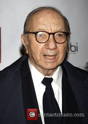 Neil Simon  Opening night of the Broadway production of 'Bonnie and Clyde' at the Gerald Schoenfeld Theatre - Arrivals....
