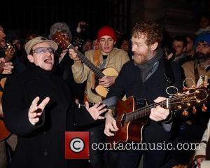 Bono, Glen Hansard and Stephen Park