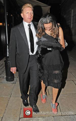 Boris Becker; Lilly Becker Boris Becker and wife, Lilly Becker spotted leaving 'Loulou' 5 Hereford St, celebrating New Years Eve...