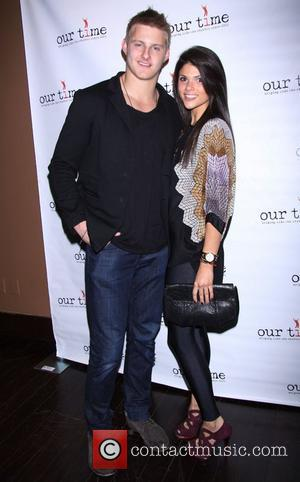 Alexander Ludwig and Nicole Pedra  attending the All Star Bowling Event to benefit 'Our Time', helping young people who...