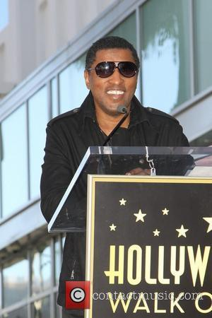 Babyface and Star On The Hollywood Walk Of Fame