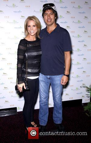 Cheryl Hines and Ray Romano