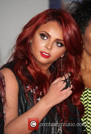 Jesy Nelson of Little Mix The Brit Awards 2012 held at The O2 - Arrivals  London, England - 21.02.12