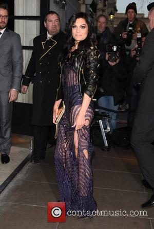 Jessie J The Brit Awards 2012 Nominations held at the Savoy- Arrivals London, England - 12.01.12 From Lia Toby/WENN
