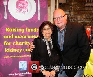 Geeta Samtani and James Whale