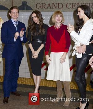 Hamish Bowles, Anna Wintour, Georgina Chapman and Victoria Beckham