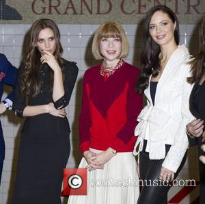 Victoria Beckham, Anna Wintour and Georgina Chapman