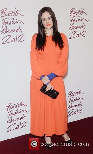 Andrea Riseborough at the British Fashion Awards at The Savoy, London, England- 27.11.12