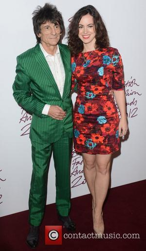 Ronnie Wood, British Fashion Awards, The Savoy, London and England