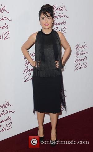 Salma Hayek, British Fashion Awards, The Savoy, London and England