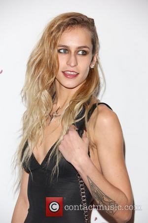 Alice Dellal The British Fashion Awards 2012 held at The Savoy - arrivals London, England - 27.11.12