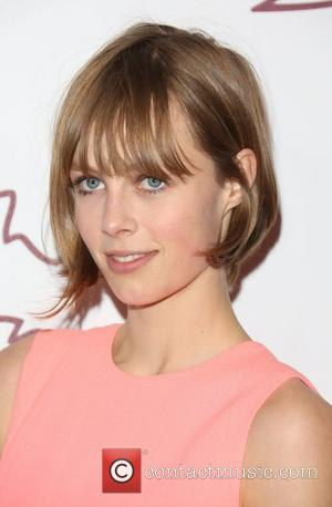 Edie Campbell The British Fashion Awards 2012 held at The Savoy - arrivals London, England - 27.11.12