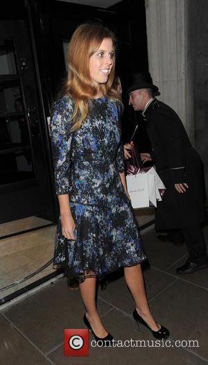 Princess Beatrice, British Fashion Awards